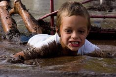 Tough Mudder birthday party for boys!  This one is a blast!
