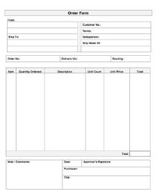 Sample Purchase Order Format In Word  Office Templates Online