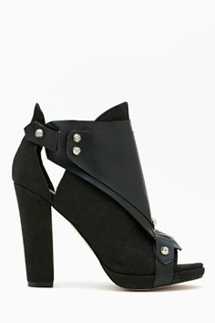 Shoe Cult by Nasty Gal Hard Crush Bootie