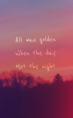 WHEN THE DAY MET THE NIGHT _ Panic! At The Disco