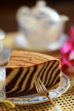 masam manis: MARBLE CHOCOLATE BANANA CAKE