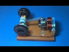 How to make a new engine for a powerful electromagnet motor Electrical Projects, Electronics Projects, Perpetual Motion, Motor Engine, New Engine, Electric Motor, Science Projects, New Model, Tecnologia