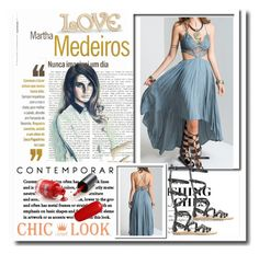 """""""Chiclookcloset 1"""" by ramiza-rotic ❤ liked on Polyvore featuring Martha Medeiros and Lenox"""