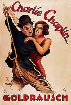 charlie chaplin gold rush 1925 german poster
