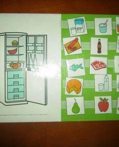 Donde_lo_guardo_vocabulario_pictogramas_ARASAAC_3 Montessori, Plastic Cutting Board, Teaching, Holiday Decor, Frame, Kids, Home Decor, Games, Conversation