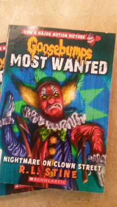 New Goosebumps. Remember Slappy the Dummy? Yeah, this clown makes him look like Hello Kitty. Scary!