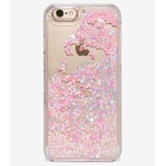 Nwt heart iPhone case Never used floating glitter Nasty Gal Accessories Phone Cases