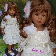 Masterpiece Dolls, Dee Dee, African American Exclusive, Long Brown Wig, Levenig #Masterpiece #Dolls