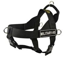 DT Universal No Pull Dog Harness MilitaryK9 Black XSmall Fits Girth Size 21Inch to 25Inch ** Be sure to check out this awesome product.Note:It is affiliate link to Amazon.
