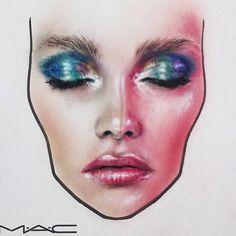 MAC face chart …You can find Mac face charts and more on our website. Facechart Mac, Facechart Makeup, Makeup Goals, Makeup Inspo, Mac Makeup, Beauty Makeup, Drugstore Beauty, Mac Face Charts, Make Up Designs
