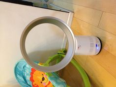 """""""Dyson electric fan! Bladeless! Safety first!""""  Right, never saw this before."""