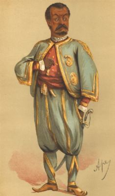 VANITY FAIR SPY CARTOON. Signor Tommaso Salvini 'Othello'. Italian actor. 1875