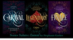 Intellectual Recreation: Series Salute: Caraval by Stephanie Garber Caraval Book, Book Series, I Love Books, Books To Read, My Books, Silly Questions, The Visitors, Book Fandoms, Book Worms