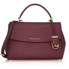e1574810fd0d8 MICHAEL Michael Kors Ava medium textured-leather shoulder bag (372 AUD) ❤  liked