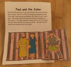 There are so many things that we know about Paul because most of the New Testament was written by him and much of Acts follows his travels. This pop-up book highlights some of the important events in his life. Other pop-up books can be found here: Pop-up Books. For... #jailer #letters #lydia