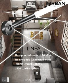 Introducing Linea, a NEW LED line light source from the URBAN collection by #sforzinilluminazione #architecturallighting #architecturallightingdesign #specialistlighting #interiordesign #interiorstyling #lighting #interiorinspiration #restaurantdesign #modernlighting #hospitalitydesign #hospitalitinteriors #hospitalityinterordesign #lightinginspiration #architecturelovers #bardesign #suspensionlighting #designforabetterlife #fwlighting #restaurantdesigner #miloox #urban #tecnico Architectural Lighting Design, Line Light, Lighting Manufacturers, Light Architecture, Hospitality Design, Restaurant Design, Modern Lighting, Interior Styling, Interior Inspiration