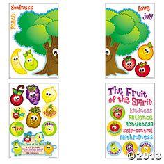 Fruit Of The Spirit Bulletin Board Cutouts - Oriental Trading