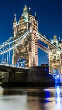 Tower Bridge London Night Photography 4K Ultra HD Mobile Wallpaper. Scenery Photography, London Photography, Night Photography, Travel Photography, Tower Bridge London, Tower Of London, London City, Bridge Wallpaper, Mobile Wallpaper