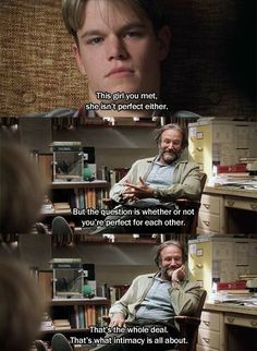 Good will hunting 1997 Robin Williams Film Quotes, Words Quotes, Tupac Quotes, Sayings, Love Movie, Movie Tv, Movie Scene, 90s Movies, Cinema Movies