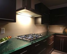 Glass Countertops - check out studio l glassworks