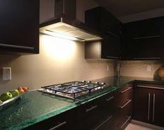 Glass Countertops - check out studio l glassworks