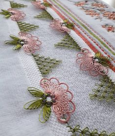 No photo description available. Embroidery Stitches Tutorial, Embroidery Designs, Crochet Hammock, Blog Wallpaper, Romanian Lace, Baby Blog, Crochet Baby Clothes, Perfume Collection, Baby Knitting Patterns