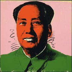 Mao (1972) | Andy Warhol (American, 1928–1987) | http://www.pinterest.com/richtapestry/pop-art/