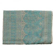 Made from layers of discarded sari joined by simple running stitch // JEANETTE FARRIER