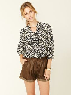 Trimmed Silk Cotton Blouse by Sea on Gilt.com #GiftMe