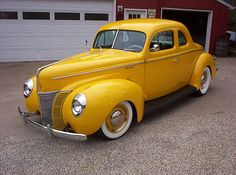 1940 Ford Coupe..we have a convertible in red.