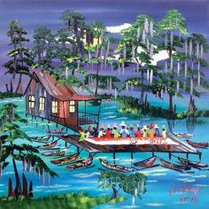 Hank Holland - Louisiana Artist - LouisianaLife.com
