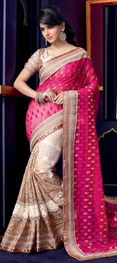 BRIDAL WEAR - check out this pretty #saree that will make you a diva - Order at flat 10% off + free shipping worldwide
