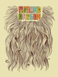 I like beards. I made many trips to Seattle last school year. Time to explore Portland.