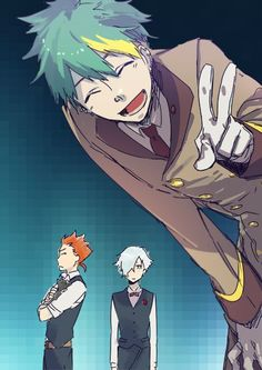 I love Clavis, he's just so cute aww!! :3