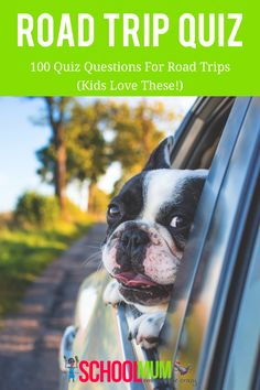 100 Quiz Questions For Road Trips (Kids Love These!) - School Mum