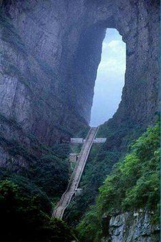 Heavens gate Mountain -China