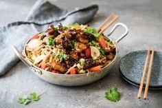 mifu-wokki Kung Pao Chicken, Vegetarian Recipes, Ethnic Recipes, Vegetarische Rezepte, Veggie Recipes, Vegan Recipes