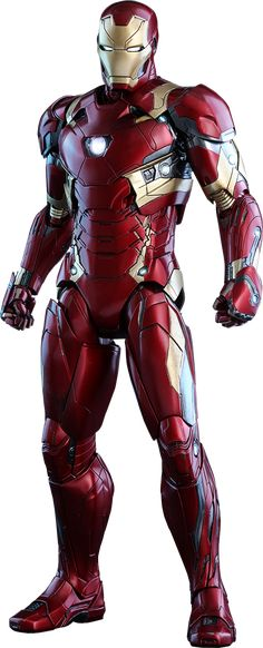 Marvel Iron Man Mark XLVI Sixth Scale Figure by Hot Toys | Sideshow Collectibles                                                                                                                                                      Más
