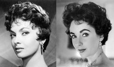 The Italian Cut: Italian screen sirens Gina Lollobrigida and Sophia Loren had the short and shaggy, yet sculptured hairstyle, featuring all over waves, soft curls and fluffy kiss curls. Elizabeth Taylor also adopted the Italian cut at one point.