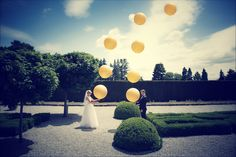 The reveal #wedding #loveatfirstsight #weddingday #creative #balloons #brideandgroom