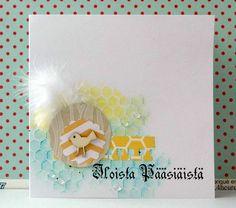 Kaisa värkkää Cool Things To Make, How To Make, I Card, Eye Candy, Easter Card, Card Ideas, Art, Art Background, Kunst