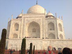 View Corner of Taj Mahal