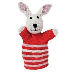 Peter het konijn handpop, gehaakt. #haken #crochet