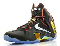 "6f0a4522b046d Nike LeBron XI Elite ""Gold Collection"" Lebron 11"