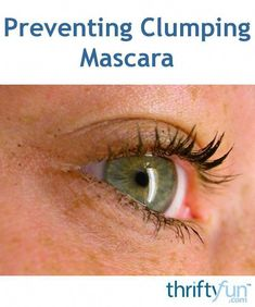This is a guide about preventing clumping mascara. Having your mascara appear clumpy on your lashes ruins the look of your makeup. #HowToApplyMascara Mascara Tips, Best Mascara, How To Apply Mascara, Applying Mascara, Face Scrub Homemade, Acne Scars, Beauty Skin, Skin Care Tips, Lashes