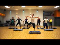 ZUMBA STEP from ZUMBA MEGA MIX 43 - Break Free ( WARM UP ) - YouTube