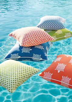 Pillows in the Pool from Portico Collection