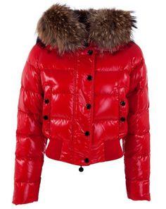 f2469764056d moncler paris - Moncler Doudoune Femme Alpin Rouge Court Doudoune Pas Cher, Doudoune  Moncler Femme