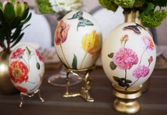 Gorgeous and high class. Reminds me of Victorian era eggs.