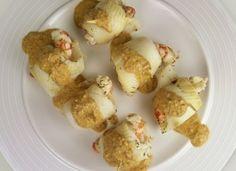 Filete de lenguado con salsa de setas y gambas para #Mycook…